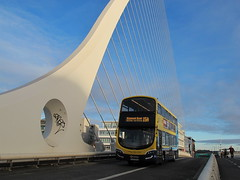 Dublin Bus SG363 (Airlink747) Tags: samuel beckett bridge route 15b ringsend