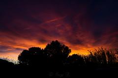 Coucher de soleil Le Brusc 29 Octobre 2017 (Enzo R.) Tags: sunset colors couleurs clouds ciel contrast contraste coucher de soleil sun provence paysage orange france sky nikon tamron d600 35mm rouge red