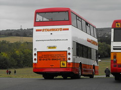 DEZ 9717 (ex-W372 PHY), Scania N113DRD, East Lancs Cityzen Body, 2000 (t.2018) (Andy Reeve-Smith) Tags: dez9717 w372phy scania n113drd eastlancs eastlancsbody eastlancashire stanways derbyshire derby leicestershire leics neleics showbus 2018 showbus2018 doningtonpark donington castledonington