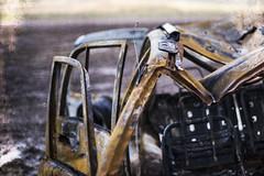 grunge metal (Redheadwondering) Tags: sonyα7ii salisburyplain car rust wreck wiltshire sonyf1450mmlens