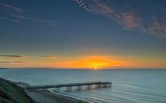 Boscombe Sunrise (nicklucas2) Tags: seascape beach boscombe bournemouth dorset sea seaside sand pier sunrise cloud