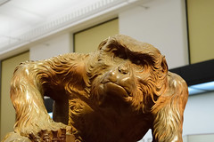 Thoughtful (varnaboy) Tags: ape wooden figure statue museum art tokyo japan expression artwork