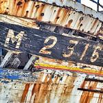 Derelict Boat in Camaret-sur-Mer, Brittany, France thumbnail