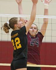 IMG_4714 (SJH Foto) Tags: girls high school volleyball garnet valley north allegheny state semifinals net battle spike block action shot jump midair