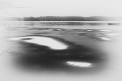 the ice spots of nature (Johan Fredlund) Tags: ice water sweden icescape blackandwhite beutiful fineart snow landscape seascape sea landscapeporn lake black white milkywhite blackwhite bw becausewelovesweden naturebw natur asomwe wonderfully awesome erth nature north finspång scandinavia sverige f11 1018 efs1018mm f4556 is stm 7d canon7d canon canonworld arts nik collection nikcollection lightroom