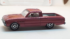 MATCHBOX 1961 FORD FALCON RANCHERO NO4 1/64 (ambassador84 OVER 11 MILLION VIEWS. :-)) Tags: matchbox 1961fordfalconranchero diecast ford