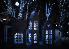 12 19 Advent in Zagreb (ana_kapetan_design) Tags: bokeh street light park city night tree trees advent