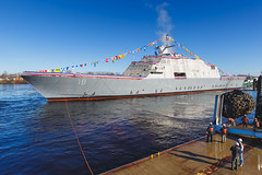 20181215_Y5A8647_m (LCS Team Freedom) Tags: 2018 christening lcs lcs19 launch littoralcombatship marinette shipyard stlouis usnavy usn wi wisconsin
