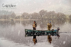 Dedication (cliffwilliams449) Tags: arps water angling boat snowing anglers flyfishing lakeofmentieth trossachs scotland weather dedication