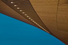 The Helsinki Central Library (2) (pni) Tags: building architecture detail wood light sky oodi ode helsinginkeskustakirjasto centrumbiblioteket helsinkicentrallibrary library helsinki helsingfors finland suomi pekkanikrus skrubu pni lamp