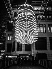 Whale Ghost by Pitaya (amipal) Tags: 175mm canarywharf capital city england europe gb greatbritain lightfestival london manuallens night uk unitedkingdom urban voigtlander