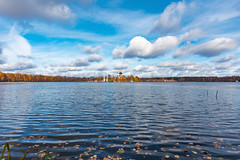 Landscape (gubanov77) Tags: nature landscape autumn lake water petushinskiyraion vladimiroblast russia pokrov vvedenskoelake vvedensky vvedenskymonastery vvedenskoe clouds skyline