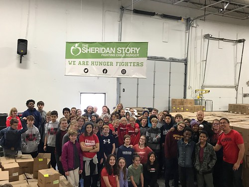 Minnehaha Academy Packing Event 11/14/18