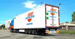 WiP Krone CoolLiner Mega by Sogard3 [ETS2] (gripshotz) Tags: krone cool liner mega daf xf jan de rijk skin holland euro truck simulator ets 2