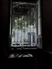 A sad cafe mourning (Lipi2334) Tags: dark window peru breakfast mourning cafe