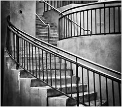 Instamatic Photography (Black and White Fine Art) Tags: instacoraf2 126filmcartridge madeingermany aristaedu100 bn bw escaleras stairs sanjuan oldsanjuan viejosanjuan puertorico