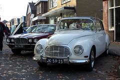 Auto Union 1000 Super 1962 (JK-59-25) & Jaguar XJ6 1977 (86-TA-00) (MilanWH) Tags: auto union 1000 super 1962 xj jk5925 jaguar xj6 1977 86ta00
