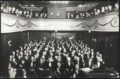 Postkort fra Agder (Avtrykket) Tags: kjole postkort publikum scene smoking arendal austagder norway nor
