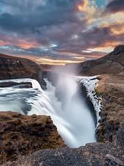 Gullfoss (Seral Mobar) Tags: fuji xt3 xf1024 iceland water ice waterfall mountains gullfoss