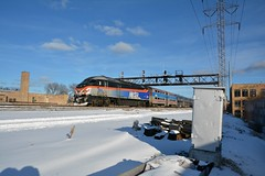 The workings (Miles Thompson) Tags: metra chicago chicagotrains mp36 milwnw a2 commutertrain