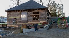 Renovation - 7 (johnarey) Tags: americanboathouse construction camden maine