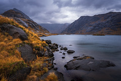 The Wilderness of Skye (stefanblombergphotography.com) Tags: autumn clouds colorful fall grass hill hillside lake landscape light mountain mountains nature outdoor rock sea sky stefanblombergphotography stone water cloud color wwwstefanblombergphotographycom