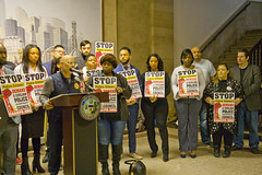 Jose Rico for the 12th Ward City of Chicago Aldermanic Candidates Press Conference to Support Civilian Police Accountability Council Chicago Illinois 1-9-19 5581 (www.cemillerphotography.com) Tags: cops brutality shootings killings rekiaboyd laquanmcdonald oversight reform corruption excessiveforce expensivelawsuits policeacademy
