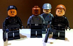 Inferno Reporting In (TheHighGround2187) Tags: star wars lego starwars starwarslego legostarwars minifigures jedi last awakens force han rey poe finn luke leia skywalker solo organa movies kenobi obiwan yoda blasters red helmets galaxy space rebels rebellion ghost crew team family mandalorian