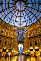 2019 Milano Galleria VEII (jeho75) Tags: sony rx100m3 zeiss italien italy italia milano mailand galleria vittorio emanuele ii architecture architektur perspektive morning