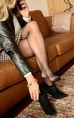 MyLeggyLady (MyLeggyLady) Tags: blond hot sex cfm upskirt suspenders stockings hotwife milf sexy secretary teasing miniskirt cleavage feet toe boots leather stiletto legs heels