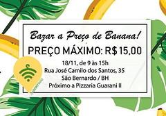 ⚠ BELO HORIZONTE - MG (FDB)  FEIRA DE BRECHÓS Organizadores: @bananananicabh Data: 18/11 Horário: 09hs as 15hs Local: Rua José Camilo dos Santos, 35, São Bernardo, Belo Horizonte - MG CEP: 31741-419 Preço Inicial: MÁXIMO $15,00 Provador: SIM Pagamento: Di (garimpasso) Tags: instagramapp square squareformat iphoneography uploaded:by=instagram