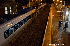 22055+22054 at Portlaoise, 20/11/18 (hurricanemk1c) Tags: railways railway train trains irish rail irishrail iarnród éireann iarnródéireann portlaoise 2018 22000 rotem icr rok 3pce 22055 22054 0720portlaoiseheuston