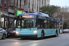 IMG_2771 (GojiMet86) Tags: mta nyc new york city bus buses 2018 xd40 7684 subway shuttle bushwick avenue scholes street