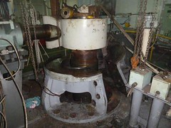 Resize of P1360523 (OpalStream) Tags: rudder marine vessel repair works overhauling workshop measurements filler gauge dirt