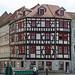 Corner Domplatz and Marktstrasse, Erfurt