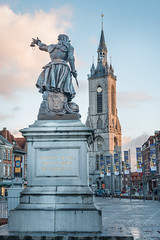 Marie-christine Lalaing, (musette thierry) Tags: tournai musette thierry d800 belgique belgium belgiëbelgiquebelgien statue europe hainaut