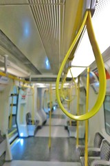 Empty Train (gary8345) Tags: 2018 uk unitedkingdom greatbritain britain england london londonist londonunderground thetube tube train carriage snapseed