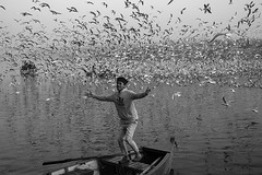 Fly with you (Rk Rao) Tags: bw blackandwhite flywithyou flying yamunaghat texture morninglight places yamunariver river human monochrome people portrait fineart fineartphotography art artistic travel incredibleindia beauty design culture naturallight rkrao radhakrishnaraoartist rkclicks radhakrishnarao newdelhi delhi india