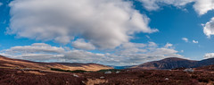 Wicklow Mountain Panorama (kckelleher11) Tags: 1260mm 2012 e300 olympus panorama bluw clouds mountains sky wicklow zuiko