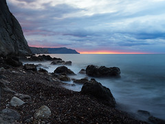 Рассвет на Черном море (zaxarou77) Tags: рассвет черное море dawn black sea landscape nature color aurora olympus omd em1 markii micro zuiko mzuiko 1240 1240mm f28 pro russia crimea