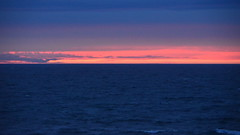 Pink on the horizon (afagen) Tags: california pacificgrove asilomarstatebeach montereypeninsula asilomar beach pacificocean ocean sunset