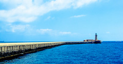 You'll see the sea - MALTA (-REcallable-Memories-of-ET-) Tags: 2014 malta sea water blue sky esze eszetamás kodak
