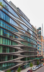 Zaha Hadid Building (Eridony (Instagram: eridony_prime)) Tags: newyorkcity newyorkcounty newyork nyc manhattan midtown chelsea westchelsea constructed2015 zahahadid
