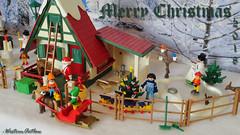 Playmobil Christmas 2018 (2) (WesternOutlaw) Tags: playmobil christmas playmobilchristmas playmobilwinter christmasvillage wintervillage northpole playmobilsanta santatoys santasworkshop santaworkshop