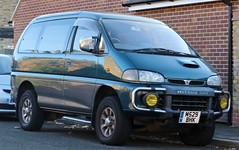 M529 BHK (Nivek.Old.Gold) Tags: 1995 mitsubishi delica space gear intercooler turbo 2800 super exceed