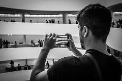 Rotunda Photo (Phil Roeder) Tags: newyorkcity nyc manhattan guggenheim artmuseum museum art blackandwhite monochrome leica leicax2