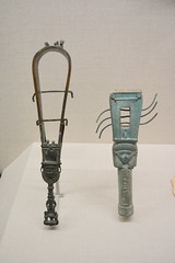 Chicago, IL - University of Chicago - Oriental Institute - Egyptian - Sistrums (jrozwado) Tags: northamerica usa illinois chicago universityofchicago university museum orientalinstitute middleeast neareast history archaeology egyptian sistrum