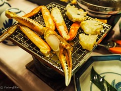 焼き蟹 (Yorkey&Rin) Tags: 11月 2018 autumn crab cuisine dinner em5markii fukui japan lumixg20f17 november olympus pb120006 rin 坂井市 三国港 秋 焼きガニ 福井県
