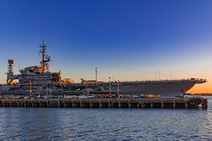 USS Midway CV-41 (Oliver Weihrauch) Tags: unitedstatesnavy sunset ussmidway zugrocker bmgforlife wanderlust picoftheday california zugrocken sandiego museum adventureculture midway fernweh newportnews carrier travelforlife lightroom aircraftcarrier