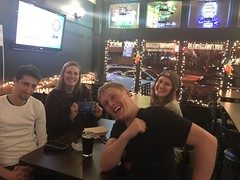 Tuesday, December 11 at Joe and Stan's Third place: Reverse Benjamin Button with 29 points (TRIVIA MAFIA) Tags: triviamafia tm joestans